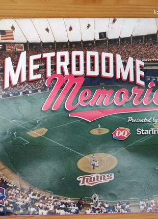 Спортивный календарь Metrodome Memories