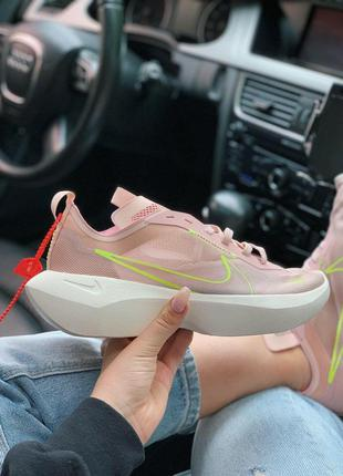 Стильные женские кроссовки nike в розовом цвете (36-40)