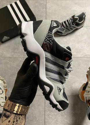 Кроссовки мужские adidas terrex ax2 gray/black