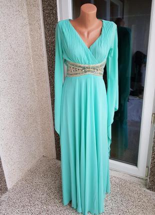 Нарядное выпускное вечернее платье m- l