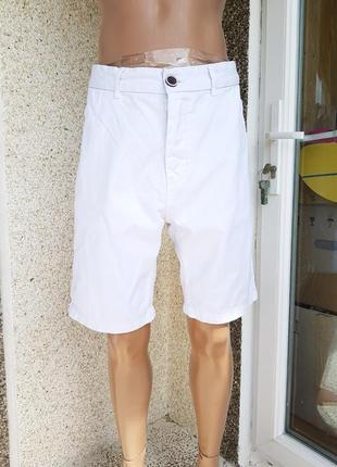 Белоснежные джинсовые шорты river island