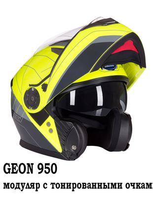 Мотошлем GEON 950. Европейская сертификация безопасности. Мото...
