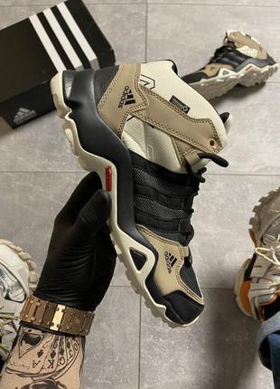 Кроссовки adidas terrex ax3 beige/black