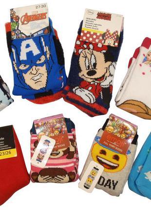 Домашние носки с тормозками махровые детские c&a disney lupilu...