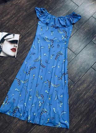 Красивое летнее макси платье большого размера