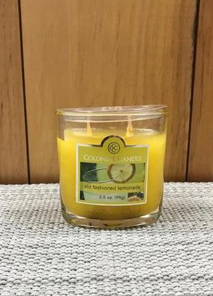 "Colonial candle сша ароматическая свеча ""летний лимонад""."