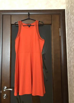 Яркое летнее платье от h&m большого размера. новое.