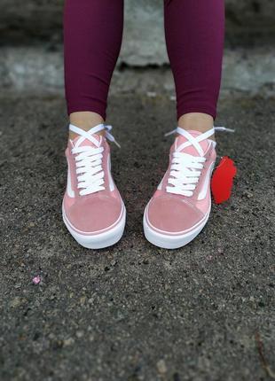Кеды  vans old school pink
