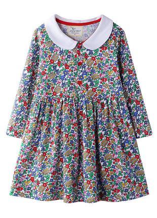 Платье для девочки Цветочный букет