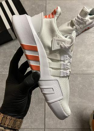 Кроссовки мужские adidas eqt support bask adv white orange