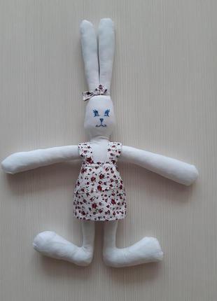 Зайка Тильда Мягкая игрушка Оригинальный подарок