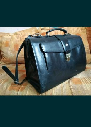 Wittchen сумка, саквояж, портфель, чемодан из натуральной кожи.