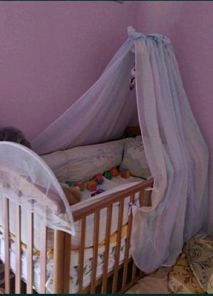 Итальянская премиум кроватка Pali, состояние новой