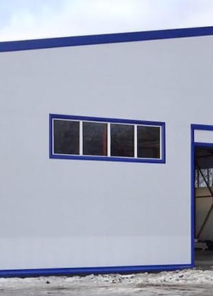 Строительство склада, ангара, зернохранилищ дома