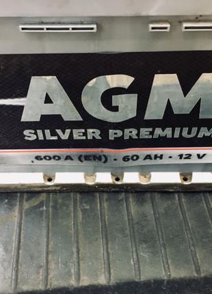Аккумулятор 60А 12V AGM