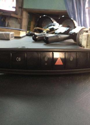 Б/у панель управления, переключатели Smart Forfour,A4548202310,