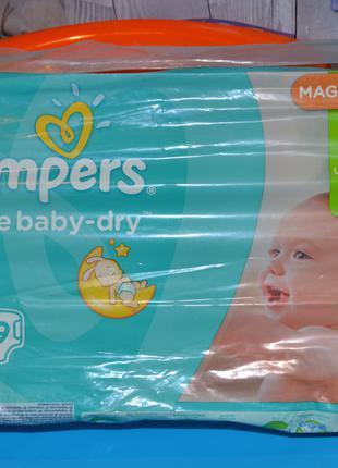 Подгузники для детей Pampers Active Baby-Dry 4 от 8 до 14 кг 49 ш