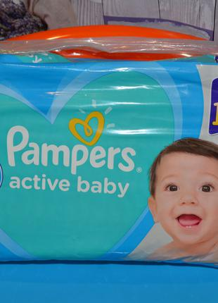 Подгузник Pampers Active Baby maxi plus размер 4+ (10-15 кг), 45