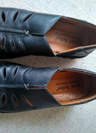 Кожаные туфли josef seibel размер 39