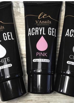 AcrylGel Для наращивания ногтей