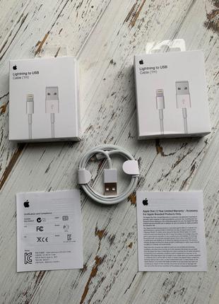 Зарядное лайтинг для iPhone USB Adapter Кабель lightning Original
