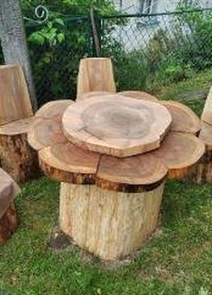 Мебель из пней деревьев