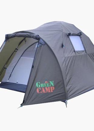 Двухместная палатка Green Camp 3006