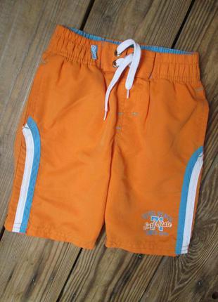 Яркие плавательные шорты primark rebel на 2-3 года шорты с пла...