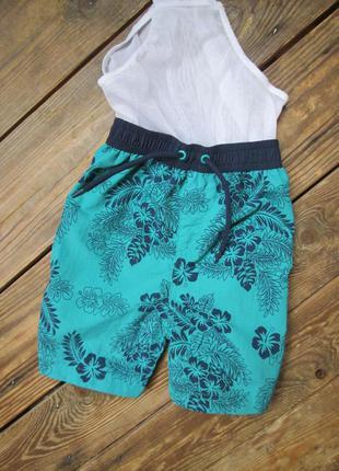 Плавательные шорты matalan на 1-1,5 года/ шорты с плавками сос...