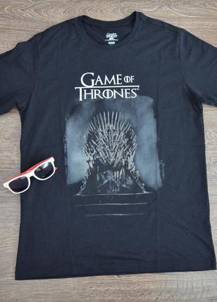 Оригинальная футболка  hbo ® game of thrones men's throne t-shirt