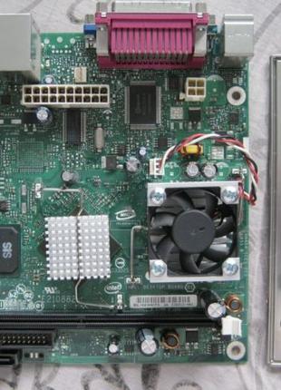 Мать mITX с распаянным процом Intel D201GLY2A DDR2