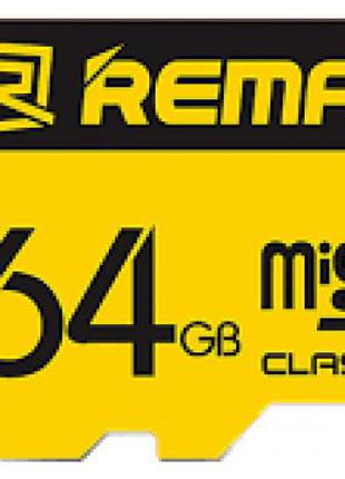 Карта памяти Remax MicroSD C10 64GB