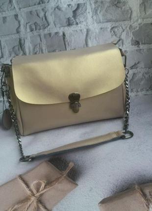 Жіноча шкіряна женская кожаная сумка клатч кожаный