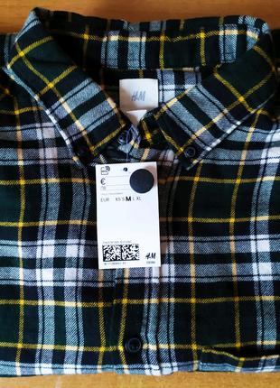Сорочка в клітинку H&M