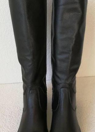 Женские зимние сапоги Limoda по колено со змейкой еврозима черная