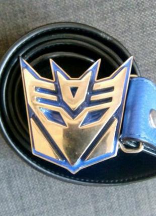 Ремінь з логотипом Transformers Decepticons