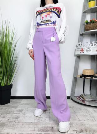 Новые брюки плаццо клеш zara