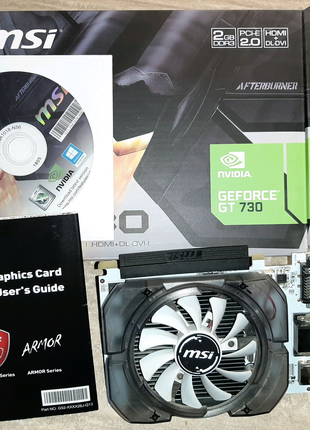 Гарантия + Geforce  GT730 2GB