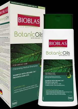 Очищающий шампунь для жирных волос Bioblas