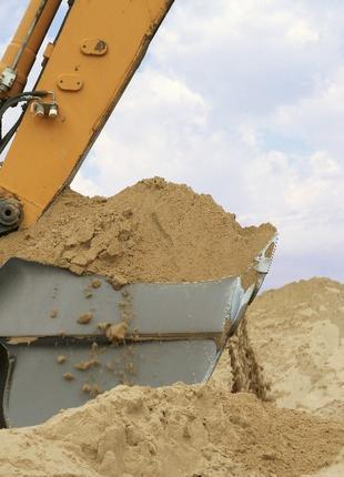 Песок речной, щебень