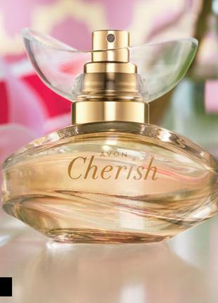 Женская парфюмерная вода Avon Cherish 50мл духи парфюм Цветочный