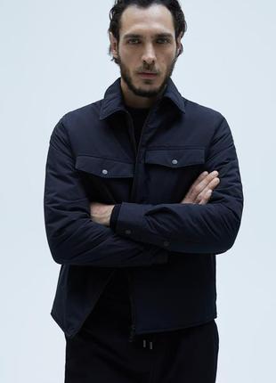 Мужская водонепроницаемая куртка ветровка от zara новая