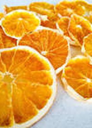 Сушиние чипси апельсин