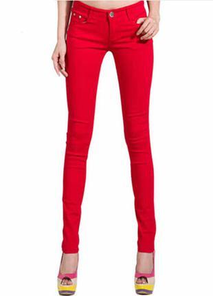 Стильные актуальные узкие джинсы.029