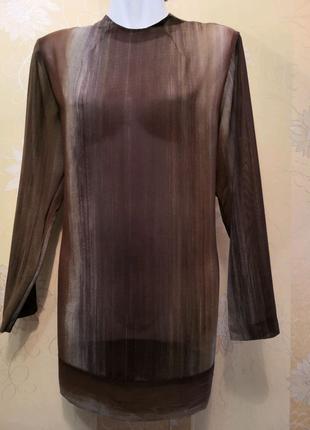 Шифоновая блуза, блуза, размер М.