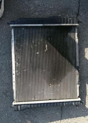 Радиатор охлаждения авео
