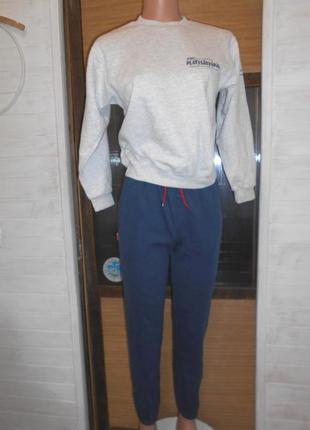 Спортивный теплый костюмчик на 11-14 лет xs