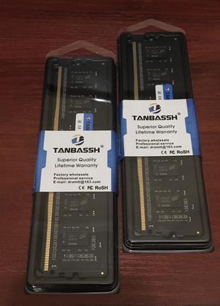 DDR4 8Gb 2400Mhz Tanbassh на чипах Micron. Работает на X99 мат. п