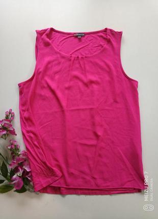 Яркая фирменная майка блуза от немецкого бренда street one, 40,l