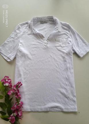 Футболка рубашка поло от бренда gerry weber, 46p